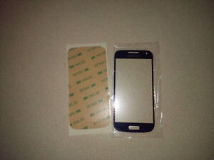Samsung Galaxy S4 Mini Glass Screen Replacement With Adhesive Kitchener / Waterloo Kitchener Area image 1