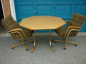 Table and Two Chairs