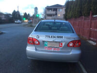 LEARN TO BECOME A SAFE DRIVER- NEED CAR RENTAL ICBC ROAD TEST