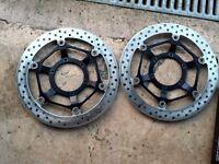 Motorbike brake discs