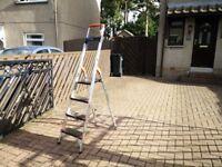 Safety stepladder