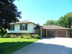 Oversized Raised Ranch with Heated Pool in Strathroy