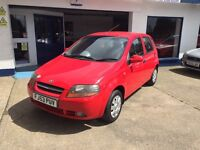 Daewoo Kalos 1.4cc 5 dr very underated, Full MOT+Service+new cam belt+warranty all included