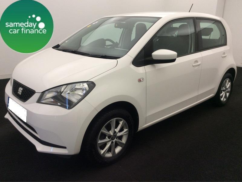 ONLY £114.75 PER MONTH WHITE 2014 SEAT Mii 1.0 TOCA 5 DOOR PETROL MANUAL