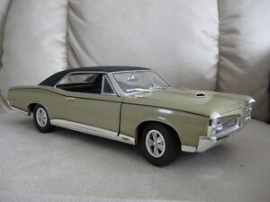 DIECAST AMERICAN MUSCLE (ERTL COLLECTIBLES) , 1967 PONTIAC GTO