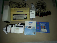 VINTAGE RADIO SHACK TRS80 COMPUTER CONTROLERS AND GAME