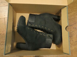 Timberland Earthkeepers Glancy black boots