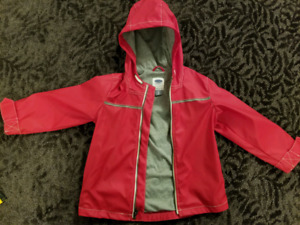 Light rain jacket size 4T