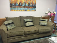 Sofa and Loveseat Made in Canada