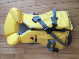 Child's life jacket fits 30-60lbs good condition