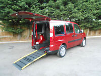 2009 Fiat Doblo 1.4 8v Dynamic Wheelchair Accessible Vehicle.