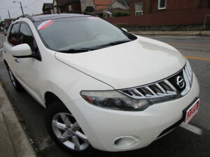 2009 Nissan Murano SL,Certify,E-Test and car proof available