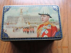 King Edward VIII Accession to the Throne 1936 Tea Tin