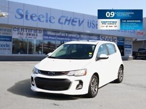 2018 CHEVROLET SONIC LT RS - Bluetooth, Sunroof, Alloys and 0.9%