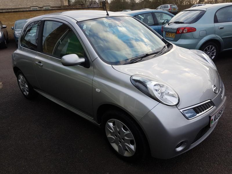 2008 Nissan Micra 1.5dCi 86 Acenta, Low Mileage.Tax 12 Months £30.