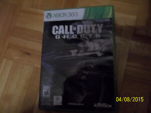 Jeux Xbox 360 Call of Duty Ghosts