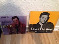 Elvis Presley two rare records first rock n roll number 2 rare 1 press and the best off Elvis