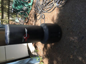 Portable water filled punching bag. NEVER USED