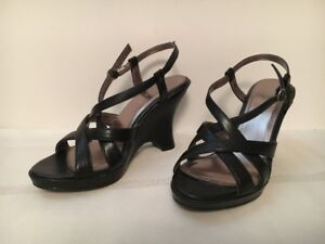 SPRING by r Black Size 6.5 High Heel Sandals for Sale!