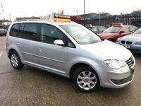 Volkswagen Touran 2.0TDI DPF ( 140PS ) ( 7st ) DSG 2007MY Sport