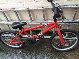Boys bike can deliver