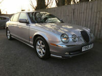 2001 Jaguar S-TYPE 3.0 auto V6 SE 83k Full Leather 31 mpg p/x