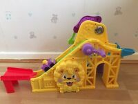 Fisher price little people wheelies rollercoaster toy
