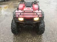 Honda trx 350 4x4 farm quad 2004
