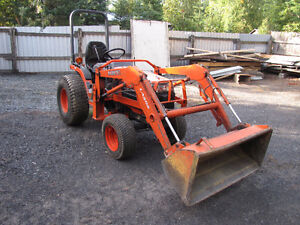 2 Kubota tractors for sale great deal won't last long.
