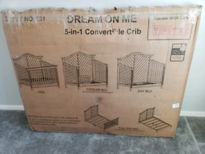 Convertible crib 5-in-1 almost half off!!