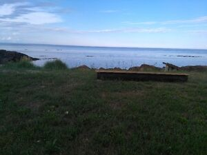 Lot for rent by the Ocean - at Green-Point, NB --Terrain à louer