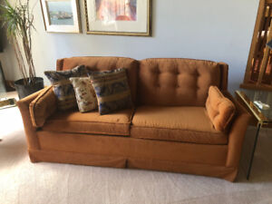 Couch Matching Chair and Hide a bed $100.00
