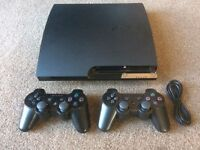 Sony PlayStation 3 slim 120gb and games BOXED