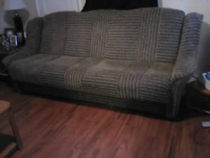 Delivered fold-down sofa bed