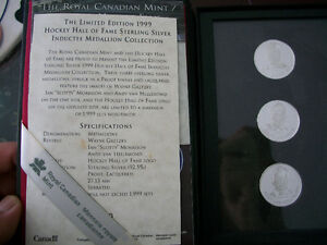 1999 Hockey Hall Of Fame Inductee Medallion Collection - RCM