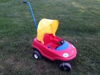 Ride in/Push cars, cozy coupe