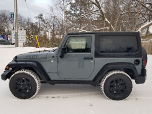 2015 Jeep Wrangler Willy's Edition Coupe (2 door)