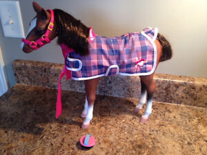 American Girl Horse with Grooming Brush