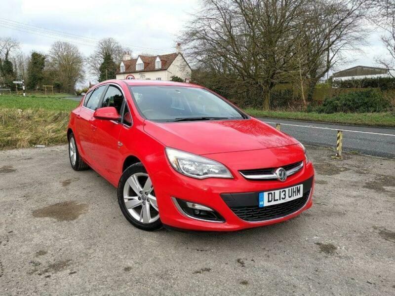 2013 Vauxhall Astra 1.4 i VVT 16v Turbo SRi 5dr | in ...