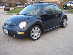 2001 Volkswagen Beetle 1.8L Turbo 5 speed Coupe (2 door)
