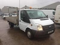 2012 12 REG FORD TRANSIT 2.2TDCi 125PS EU5 RWD 350 EF DRW 1 OWNER FROM NEW