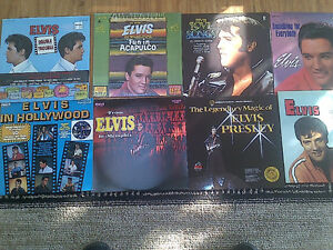 ELVIS PRESLEY VINYL LP COLLECTION SET 3 - 10 TITLES FANS ONLY!!!