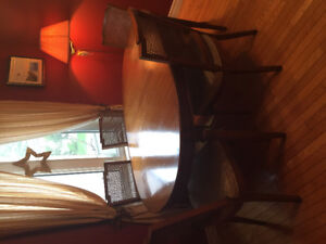 Dining Room table and hutch