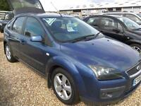 2006 FORD FOCUS 1.6 ZETEC CLIMATE 5 DOOR,ONLY 65,000 MILES,IN BLUE IN VGC