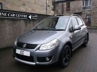 08 08 SUZUKI SX4 1.6 DDiS TURBO DIESEL 5DR ALLOYS AIRCON CD SPORTS SEATS