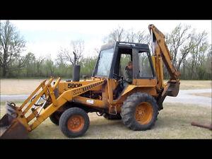 Dismantling for parts. Case Loader backhoes 530 580B 480B 680E