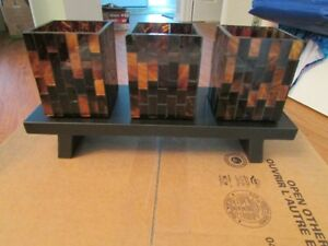 Partylite mosaic candholders and more, all brand new in box