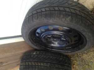 TWO new winter tires