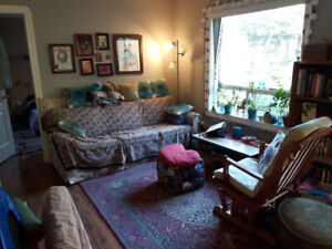 1-3 month sublet - Garden suite by the sea (Sooke, March-May)