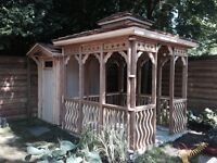 Gazebos, Pergolas, Hot-Tub Enclosure Kits